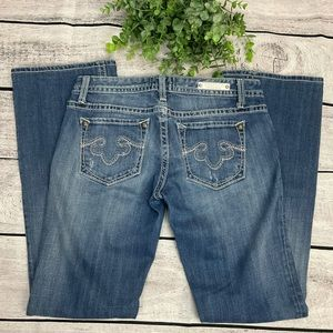 REROCK For Express Embroidered Bootcut Jeans Sz 4